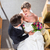 wedding couple marrying in church stock photo © kzenon