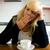 кофе · женщину · утра · Постоянный - Сток-фото © kzenon