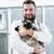 gato · jaula · veterinario · animales · clínica · oficina - foto stock © kzenon