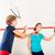 сквош · ракетка · спорт · спортзал · женщины · подготовки - Сток-фото © kzenon