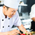 Asya · şefler · pişirme · restoran · portre · genç - stok fotoğraf © Kzenon