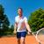 jonge · man · spelen · tennis · man · sport · jonge - stockfoto © kzenon