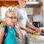 家族 · 母親 · 朝食 · 学校 · 子供 - ストックフォト © Kzenon