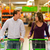 couple in supermarket with shopping cart stock photo © kzenon