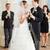 feliz · casal · champanhe · óculos · festa · celebração - foto stock © kzenon