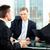 business · sollicitatiegesprek · jonge · man · vergadering · vrouw · vergadering - stockfoto © Kzenon