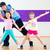 dance teacher giving kids zumba dancing class stock photo © kzenon