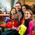 barátok · karácsony · vásárlás · ajándékok · bevásárlóközpont · csoport - stock fotó © kzenon