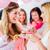 matka · jedzenie · różowy · baby · prysznic - zdjęcia stock © kzenon