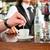barista · ügyfél · kávézó · iszik · kávé · férfiak - stock fotó © Kzenon
