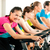 indoor bycicle cycling in gym stock photo © kzenon