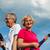actieve · senioren · lopen · vakantie · majorca · man · paar - stockfoto © kzenon