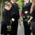 family mourning on funeral at cemetery stock photo © kzenon