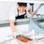 chef · fastfood · restaurant · mensen · beroep · koken · man - stockfoto © kzenon
