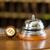 reception   hotel bell and key lying on the desk stock photo © kzenon