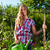 gardening in summer   woman with grate stock photo © kzenon