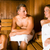 friends in the sauna stock photo © kzenon