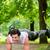 homme · ville · parc · suspension · entraîneur · sport - photo stock © kzenon