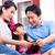 asian · familie · online · winkelen · zuidoosten · creditcard · home - stockfoto © kzenon