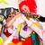clown · kinderen · partij · gelukkig · vrienden - stockfoto © kzenon