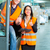 targonca · sofőr · felügyelő · raktár · logisztika · csapatmunka - stock fotó © kzenon