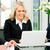 business · team · vergadering · kantoor · laptop · baas - stockfoto © Kzenon