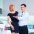asian couple choosing luxury suv car stock photo © kzenon
