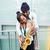 saxofone · músico · masculino - foto stock © kzenon