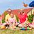 dzieci · piknik · grupy · szczęśliwy · jedzenie · arbuz - zdjęcia stock © kzenon