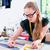 女性 · 作業 · ファッションデザイン · スタジオ · 小さな · ヒスパニック - ストックフォト © kzenon