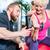 старший · человека · Личный · тренер · спортзал · подготовки - Сток-фото © kzenon