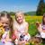 crianças · ovos · prado · primavera · páscoa - foto stock © Kzenon