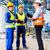 アジア · 工場労働者 · エンジニア · チーム · マシン · 配信 - ストックフォト © kzenon