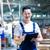 trabalhador · asiático · fabrico · planta · discutir - foto stock © kzenon