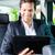 человека · такси · назначение · молодые · бизнесмен - Сток-фото © kzenon