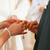 bride giving ring to groom in wedding stock photo © kzenon