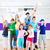 dans · leraar · kinderen · zumba · fitness · klasse - stockfoto © Kzenon