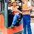 Asia · ascensor · camión · conductor · almacenamiento · tenedor - foto stock © kzenon