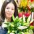 femenino · florista · tienda · negocios - foto stock © kzenon