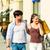 couple · centre-ville · Shopping · coloré · verre - photo stock © kzenon