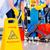 階 · 洗浄 · 操作 · 女性 · 作業 - ストックフォト © kzenon
