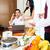 азиатских · официант · завтрак · номер · в · отеле - Сток-фото © kzenon