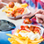ketchup · mayonaise · voedsel · achtergrond · witte - stockfoto © kzenon