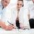 business people analyzing data   glasses on graph stock photo © kzenon