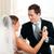 noiva · noivo · dança · primeiro · dançar · casamento - foto stock © Kzenon