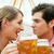 couple in a beer tent stock photo © kzenon