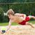 voleibol · praia · bola · grade · esportes - foto stock © kzenon