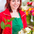 Florist binding flower bunch in shop  stock photo © Kzenon