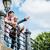 berlin tourists enjoying view from bridge at the museum island stock photo © kzenon