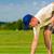 yeşil · delik · yüz · golf · spor - stok fotoğraf © kzenon